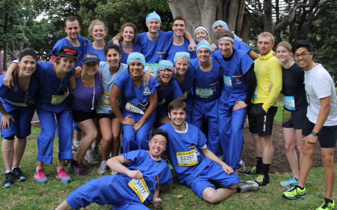 Congratulations SUSS City2Surf Crew 2014!