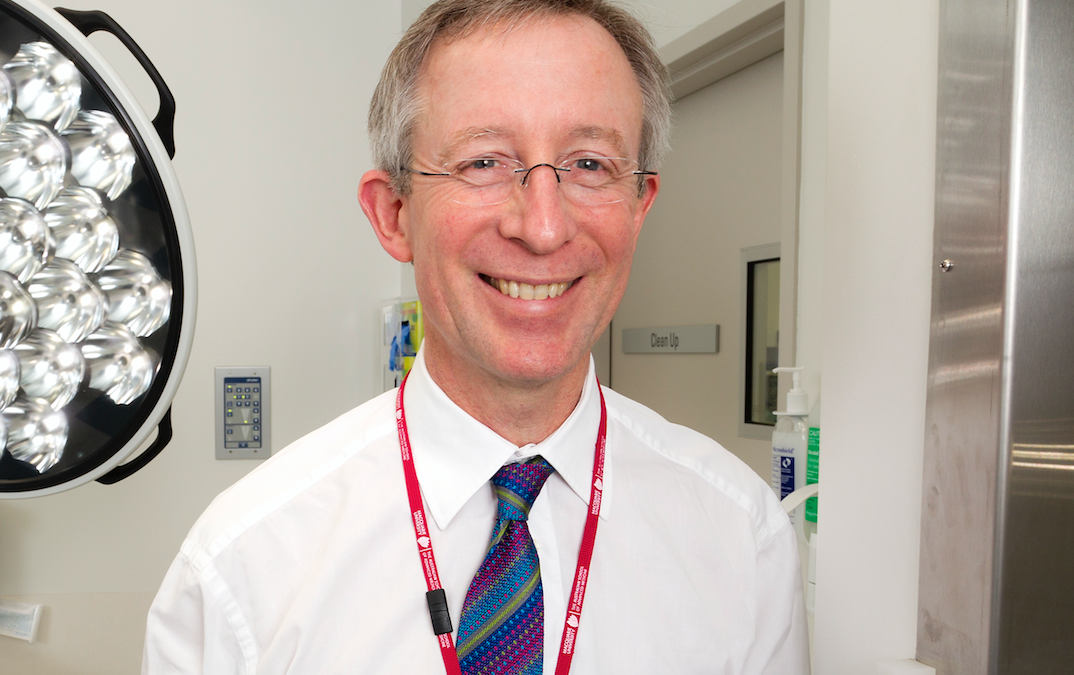 Eminent colorectal surgeon on the pursuit of a surgical career