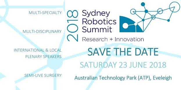 IAS Sydney Robotic Summit 2018