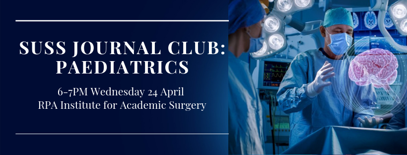 SUSS April Journal Club – Paediatrics