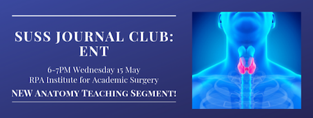 SUSS May Journal Club – ENT