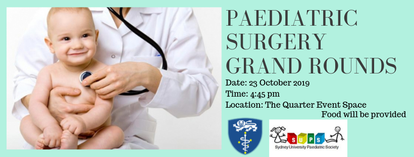 Paediatric Surgery Grand Rounds
