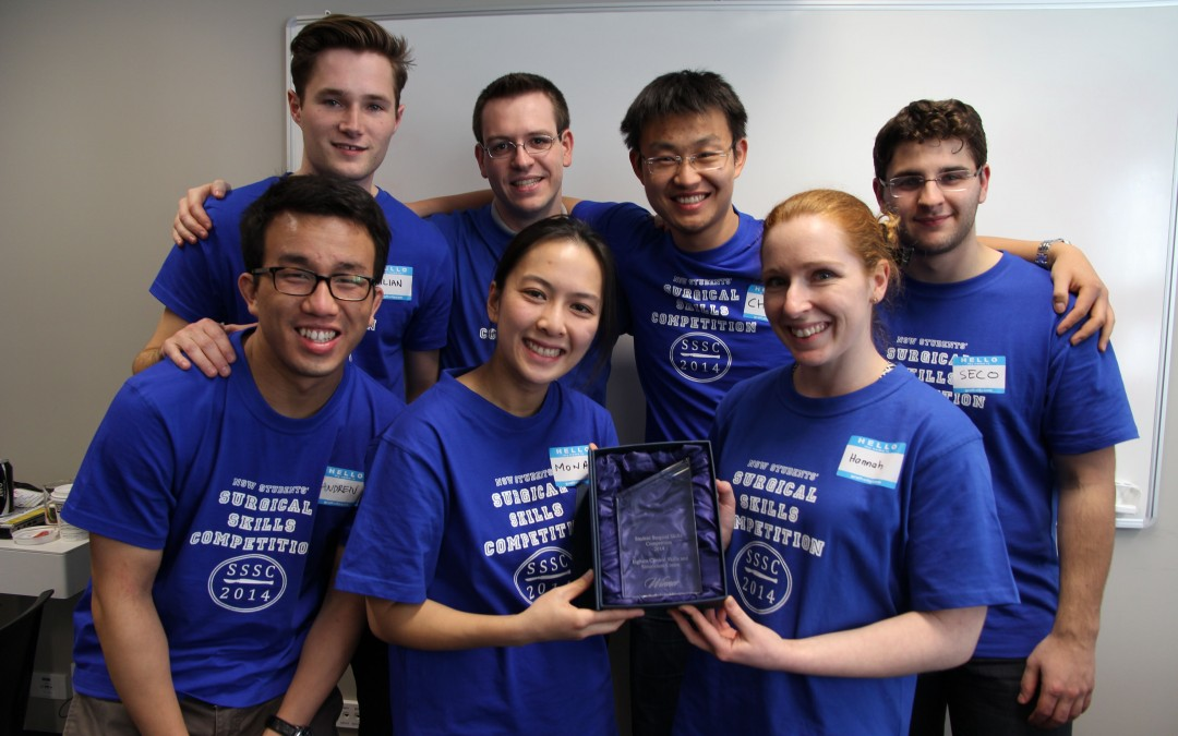 SUSS: 2014 Winners of the NSW Students' Surgical Skills Competition