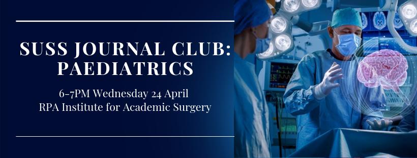 SUSS April Journal Club – Paediatrics