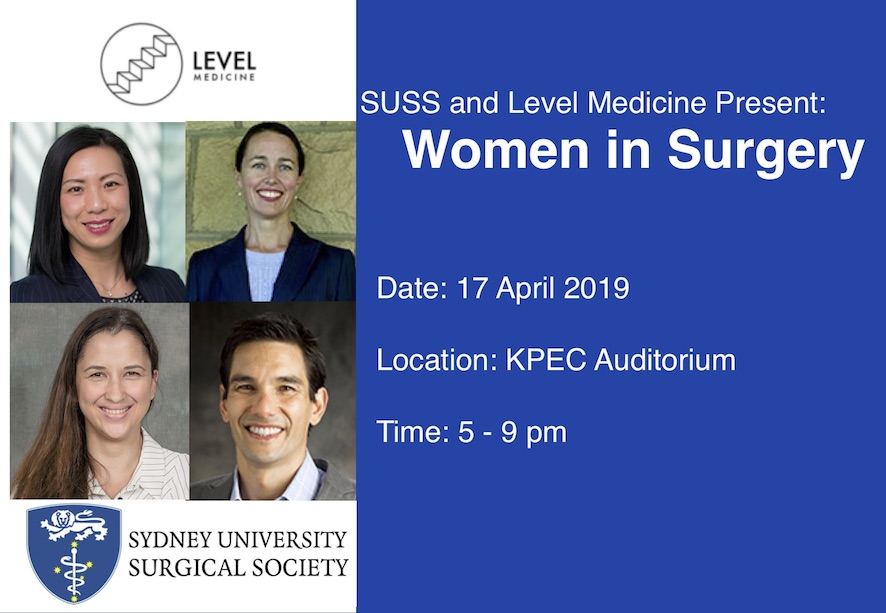 SUSS and Level Medicine Present: Women in Surgery