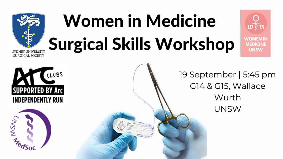 Women in Medicine Surgical Skills Workshop